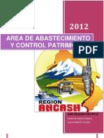 Area de Abastecimiento y Control Patrimonial