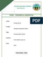 informe ecologia ecosistemas