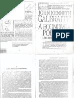 GALBRAIT-A economia política - Uma história crítica - Cap.XV e XVI