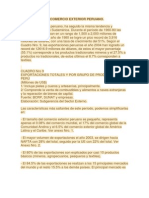 El Comercio Exterior Peruano