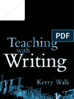 Teaching With Writing K Walk