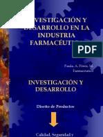 INVESTIGACIÓN Y DESARROLLO EN LA INDUSTRIA FARMACÉUTICA(1)