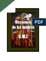 Diccionario de Nombres para Bebés G.M.Z.