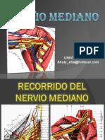 Recorrido Del Nervio Mediano - Plexo Braquial