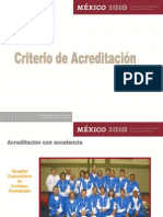 Criterios de Acreditacion