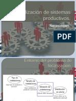 Localizacion de Sistemas Productivos