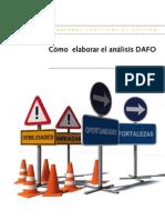 Como Elaborar Analisis DAFO Esp