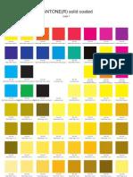 2010 10 PMS Colour Chart Coated