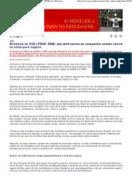 Movimento Estudantil - Diretores do DCE (PSDB_DEM) são defensores da campanha racista contra as cotas para negros - 30_11_2011