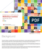 Catalogue of Products Reference Centres Americas Zone 2013