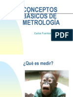 CONCEPTOS DE METROLOGÍA PUMA