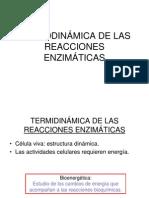 2).- Termodinamica de Las Reacciones Enzimaticas