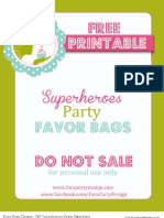FreePrintable-DIYSuperheroesFavorBagsTemplate by Fara Party Design