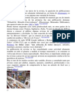 Historia de Las Revistas