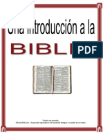 Una Introduccion a La Biblia