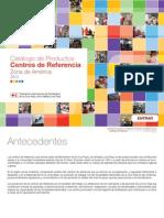 Catálogo de Productos Centros de Referencia Zona de América