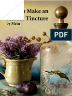 How to make an Herbal Tinture