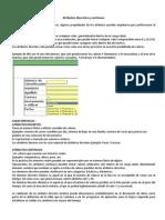 Resumen Atributos y Variables