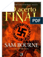 O Acerto Final - Sam Bourne