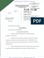 Mike Baker Arthrocare DOJ Complaint