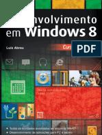 Desenvolvimento Windows 8