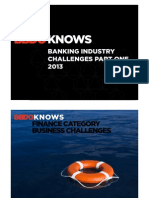 BBDO KNOWS Banking Industry Challenges Part One