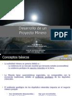 Desarrollo de Un Proyecto Minero.