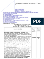 697_CONTABILIDADE AJUSTES DE ADICOES E EXCLUSOES NO LALUR (IRPJ E CSLL) E RTT – PROCEDIMENTO