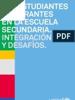 Estudiantes Secundarios Inmigrantes 2012