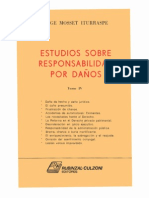 ESTUDIOS SOBRE RESPONSABILIDAD POR DAÑOS - TOMO IV - JORGE MOSSET ITURRASPE - PDF