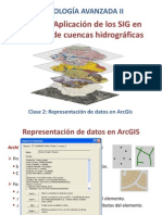 Representación de datos en ArcGis