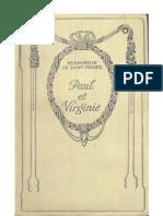 2197371 Paul Et Virginie Bernardin de SaintPierre
