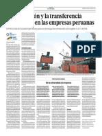 La innovación y la transferencia tecnológica en las empresas peruanas - Juana Kuramoto - El Comercio - 190713