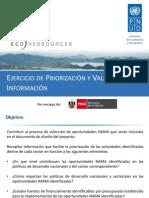 EcoRessources Presentation - Metodología de validación de resultados