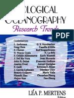 Biological Oceanography1
