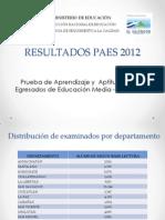 Informe de Resultados Paes 2012 (1)