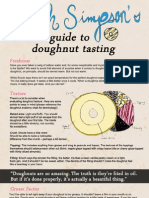 Enoch Simpson's Guide to Doughnut Tasting