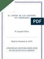 57084848 El Cantar de Los Cantares Un Comentario