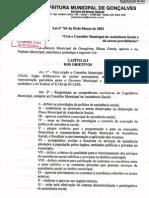 Lei 761-01 - CMAS