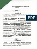 CMS - Regimento Interno