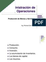 Sesion 1.1. Produccion de Bienes y Servicios
