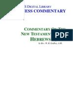 Comentários de Hebreus - Judas