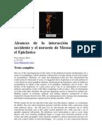 Peter Jiménez Betts  - Alcances de la interacción entre el occidente y el noroeste de Mesoamérica en el Epiclásico