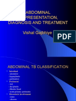 Abdominal Tbpresentation Diagnosis and Treatment New