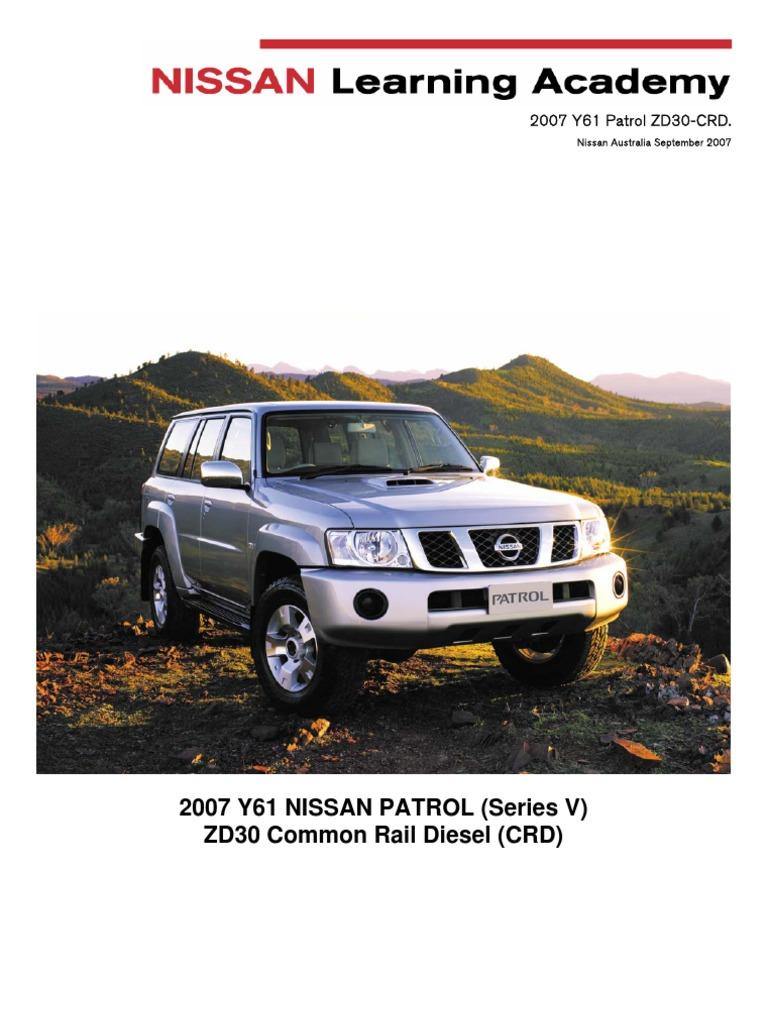 y61 crd tm fuel injection transmission mechanics rh scribd com Y60 Patrol LWB Tie Rod Patrol Y60
