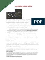 25 pasos para conseguir el éxito en tu blog