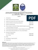 DISI Meeting July 31, 2013 Agenda Packet