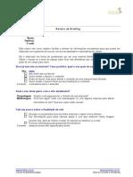 Roteiro Briefing de Solicitação de Sites