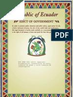 Documentación. Presentación de tesis, trabajos de grado y otros trabajos de investigación - NTE INEN 2402 (2010) (Spanish):