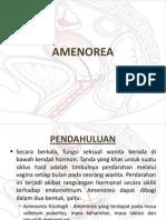 AMENOREA